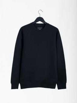 A2 basic raglan sweatshirt | black