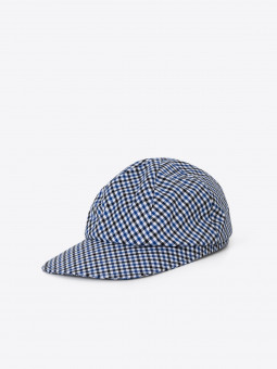 A2 paperboy cap | gingham