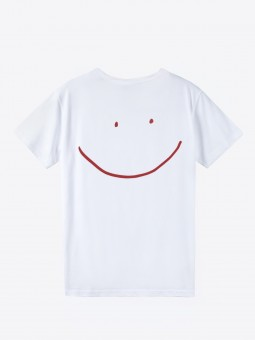 airbag craftworks mega happy | back print | white