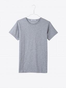 airbag craftworks womens  t 01 blank | grey melange