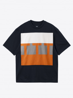 the trilogy tapes ttt BLOCK T-SHIRT black