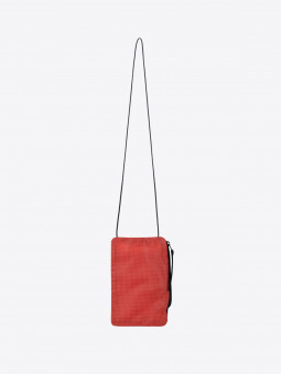 A2 orange-red | pouch for face mask & phone