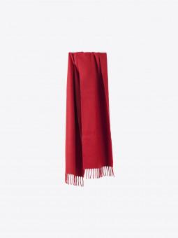 airbag craftworks scott | red cashmere scarf