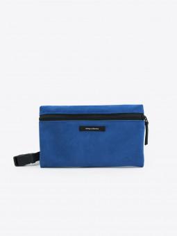 A2 dlx leather | velour royal blue