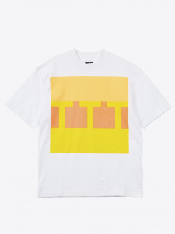 the trilogy tapes ttt BLOCK T-SHIRT white