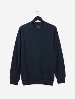 A2 basic raglan sweatshirt | dark navy