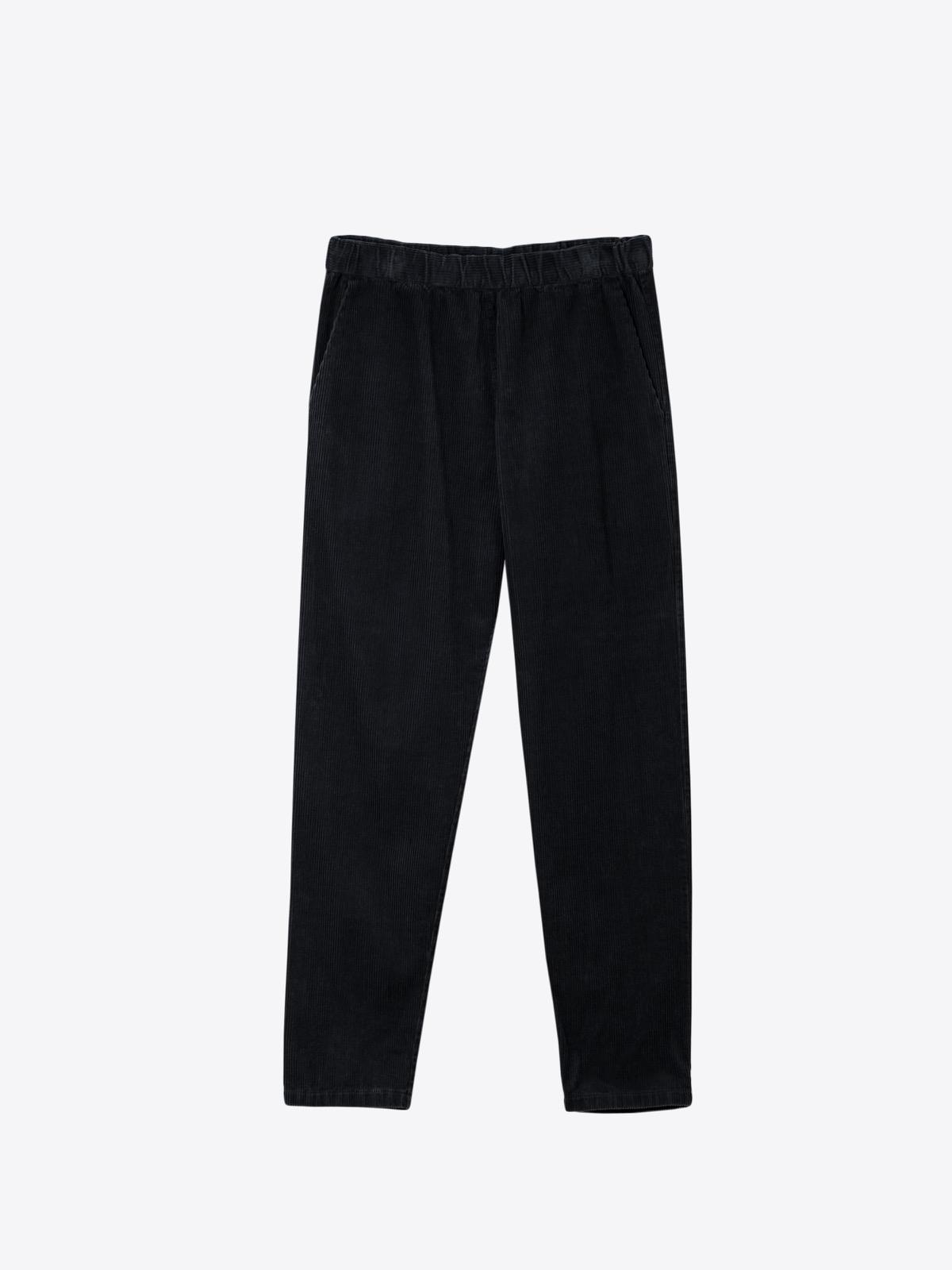A2 012 | washed soft corduroy | black