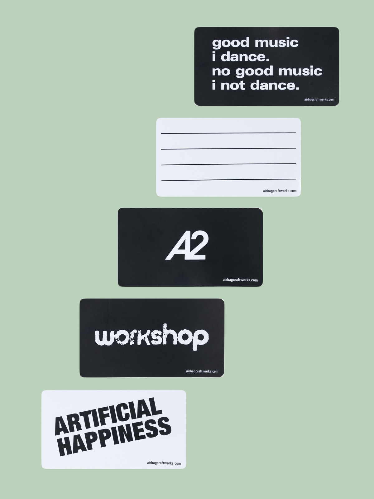 airbag craftworks sticker set 02