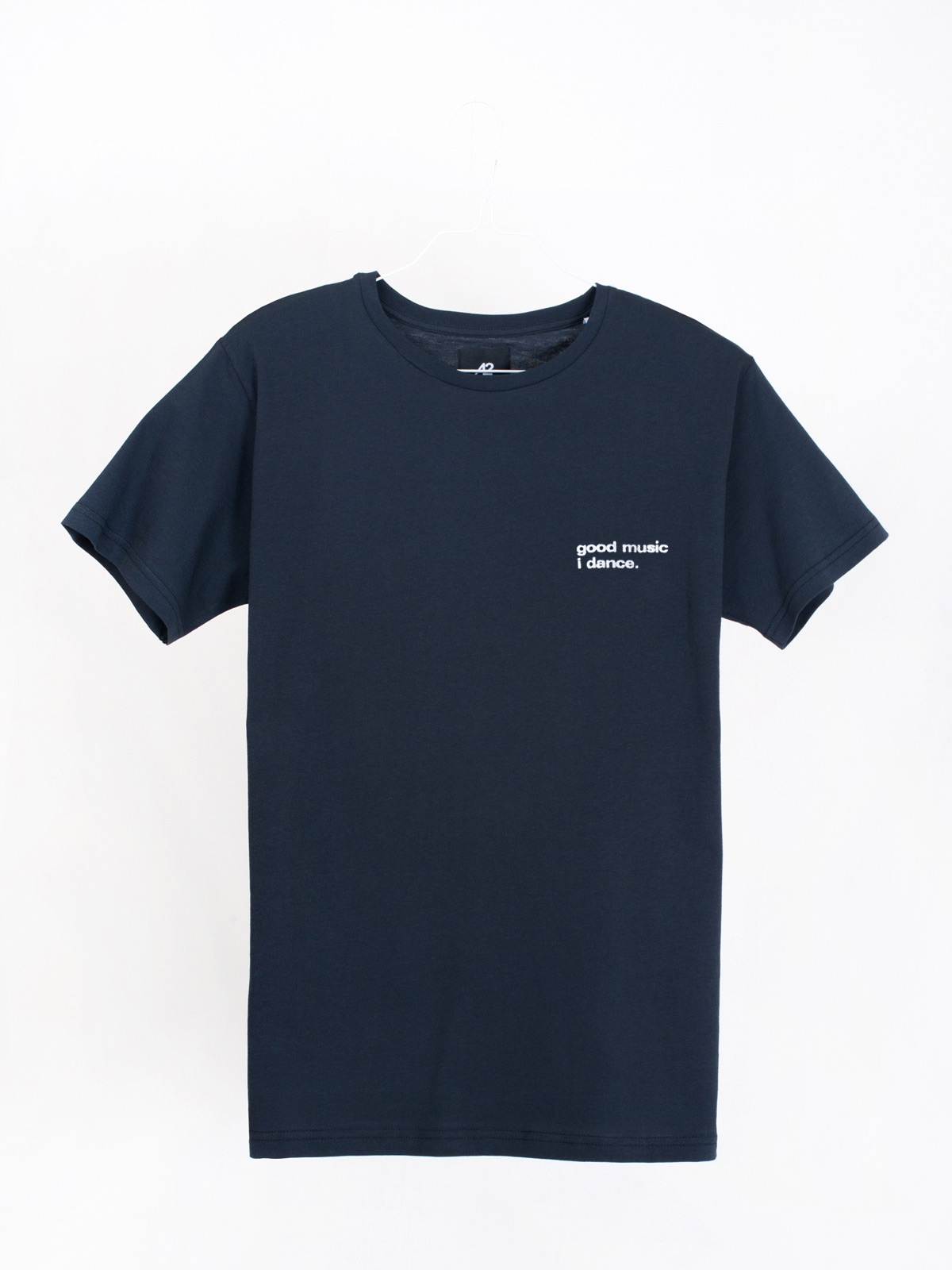 airbag craftworks good music i dance. mini logo | dark navy