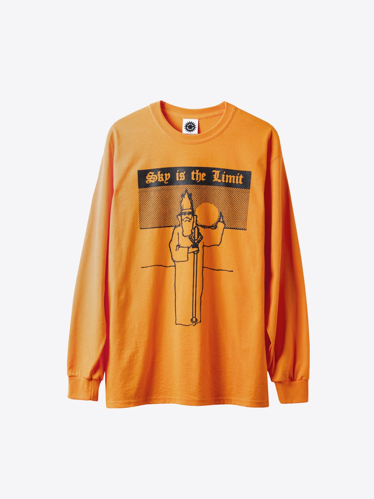 airbag craftworks good morning tapes | SKY IS THE LIMIT LS TEE - BRIGHT ORANGE