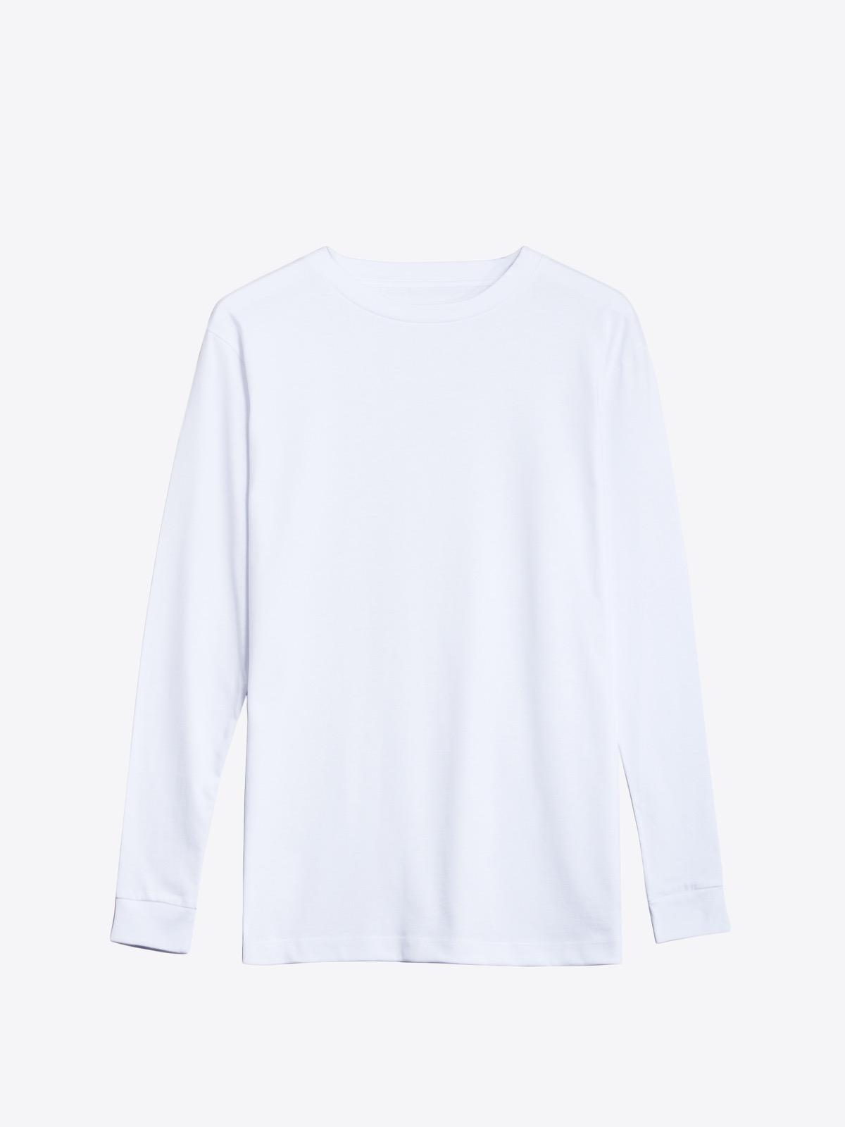 airbag craftworks longsleeve 01 blank | white
