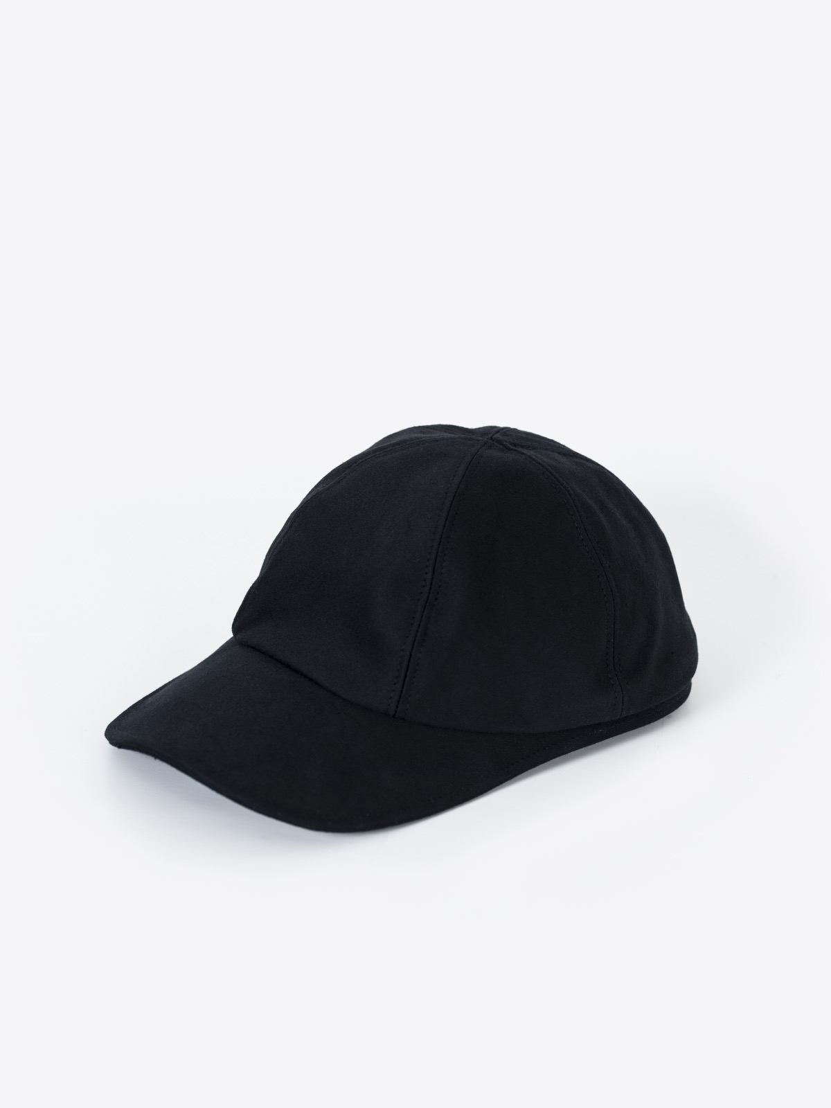 A2 paperboy cap | heavy cotton | black
