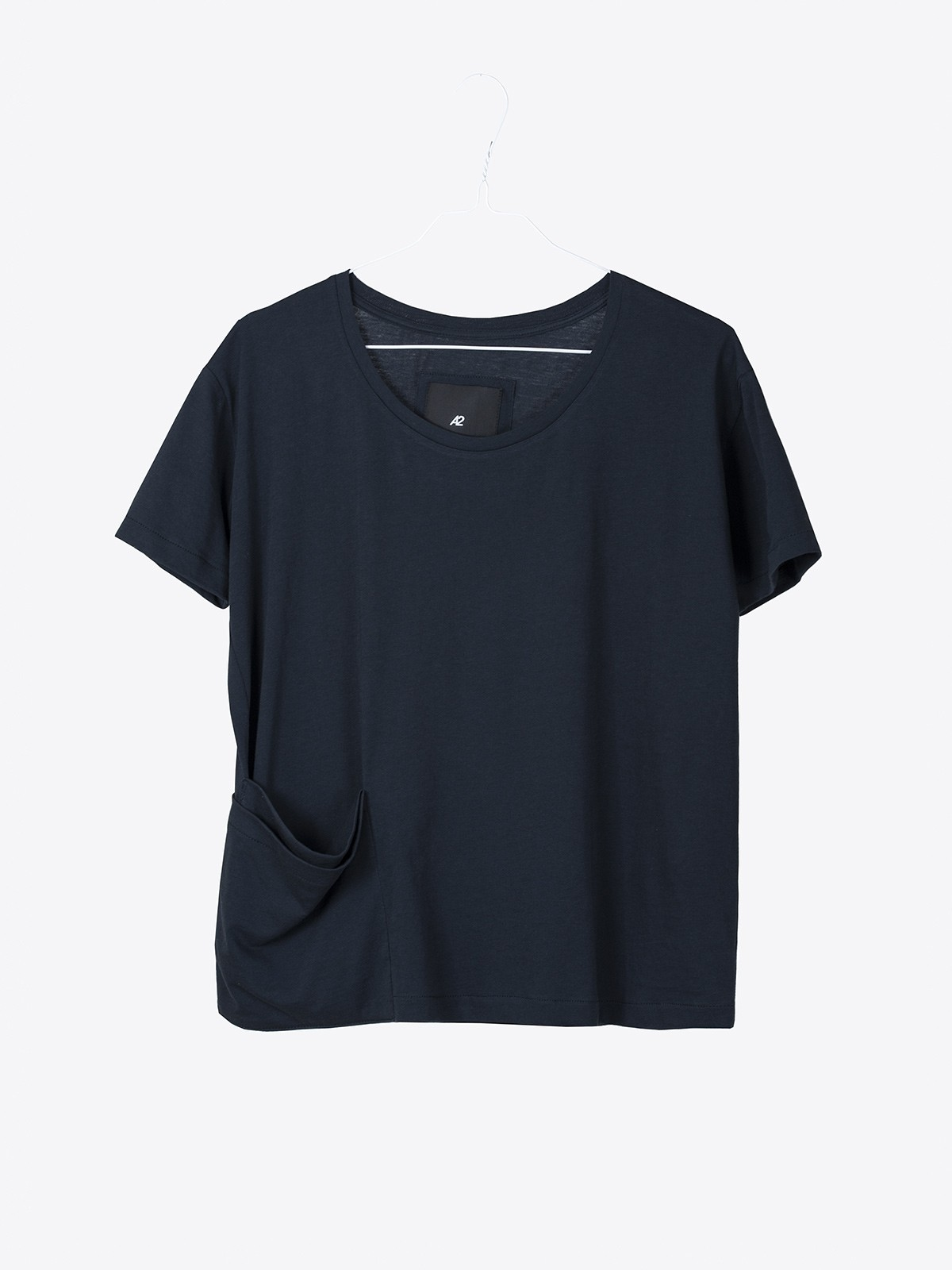 A2 womens pick pocket shirt | dark navy