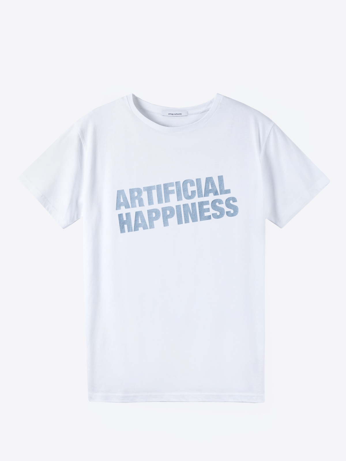 airbag craftworks artificial happiness | white