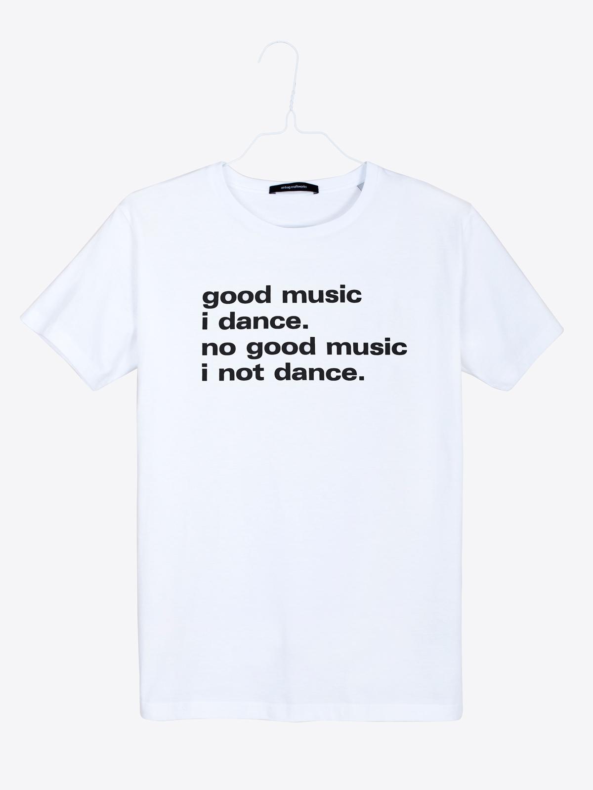 airbag craftworks good music i dance | white
