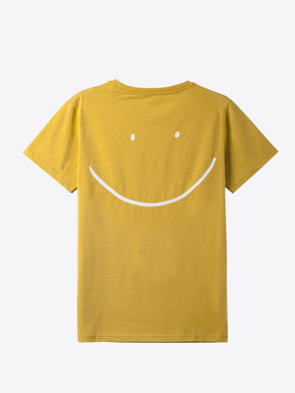airbag craftworks  mega happy | back print | gold