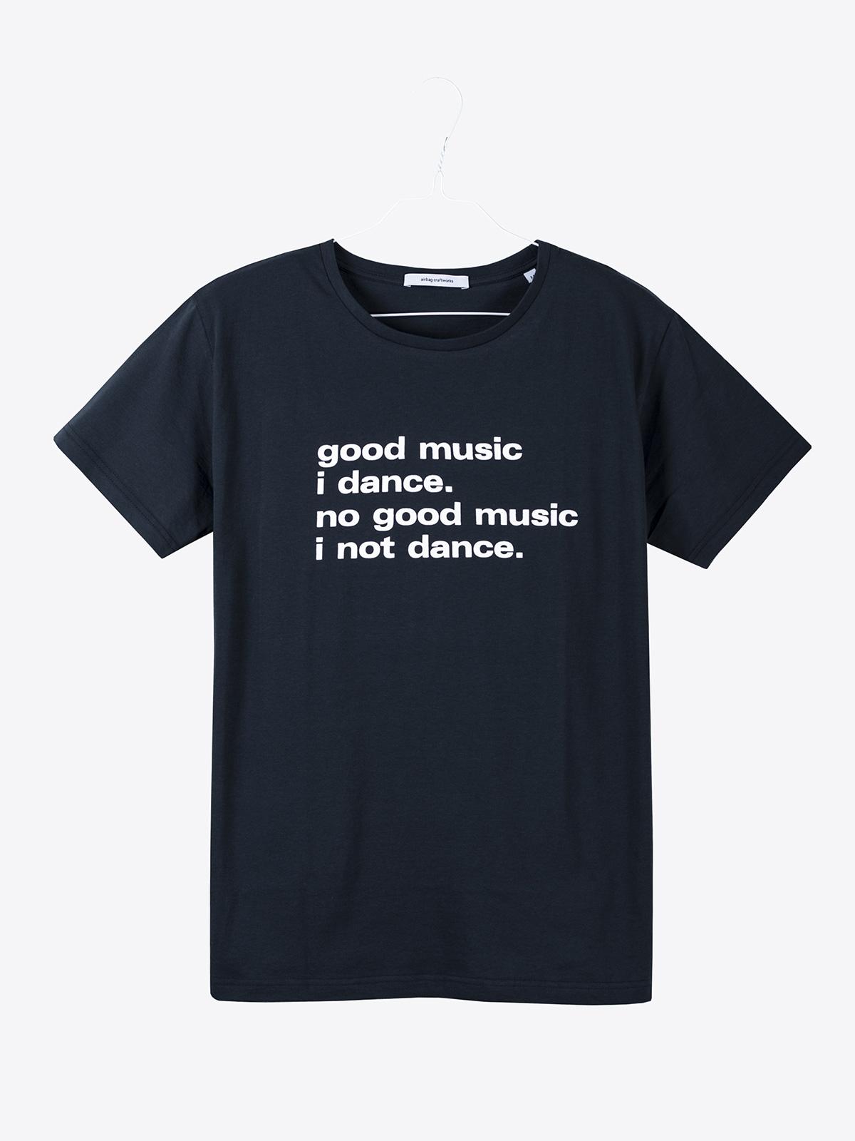 airbag craftworks good music i dance | dark navy