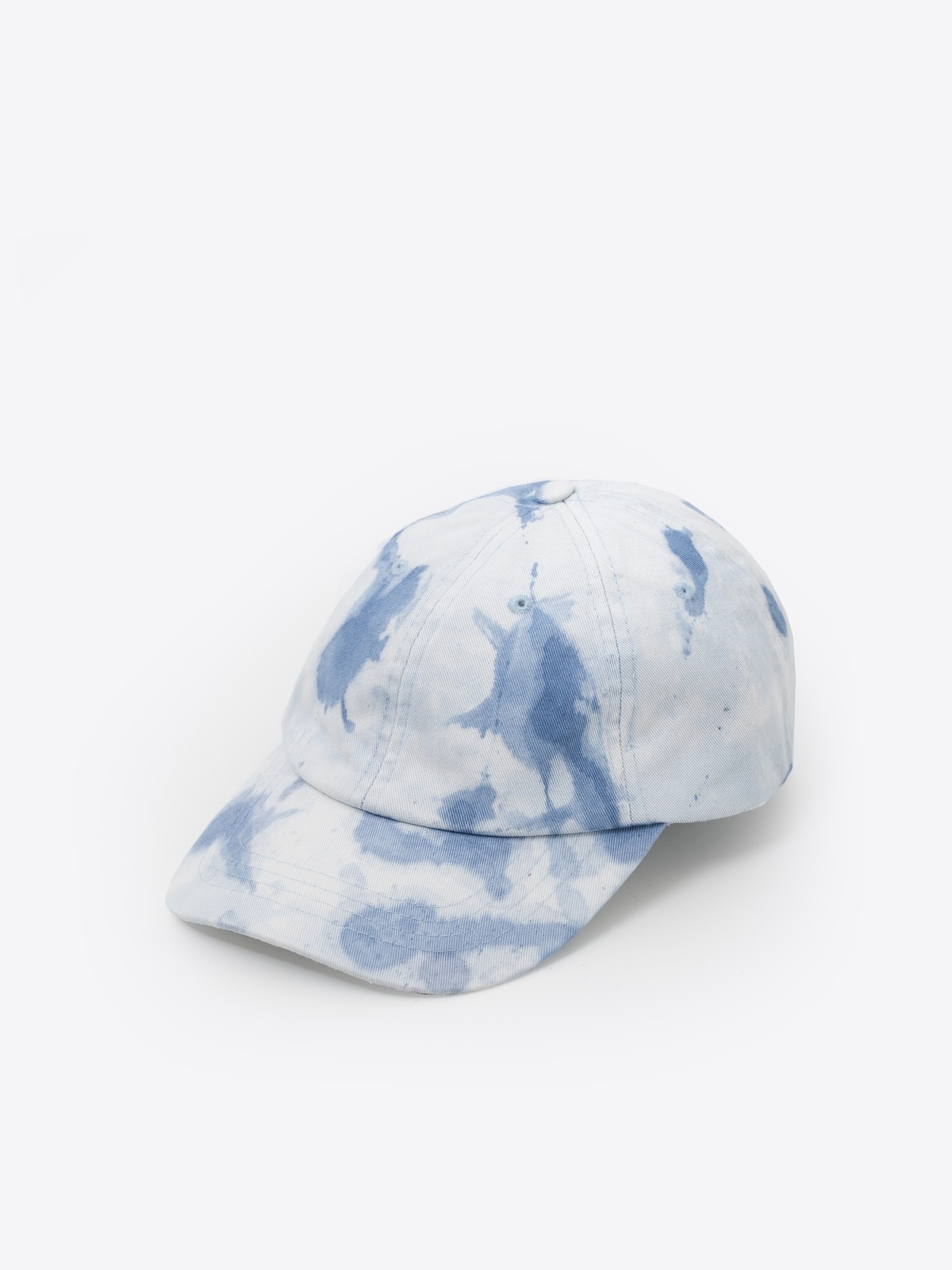 - primitive hut | utopia blue white clouded
