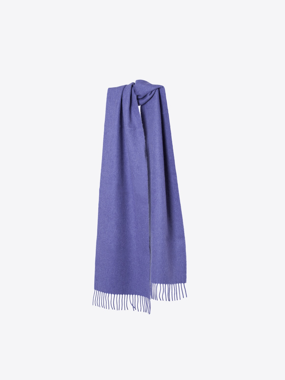 airbag craftworks scott | purple cashmere scarf