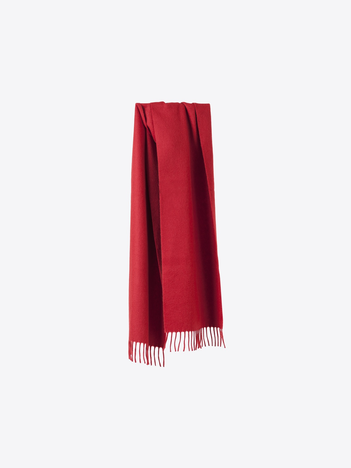 airbag craftworks scott | red cashmere scarf