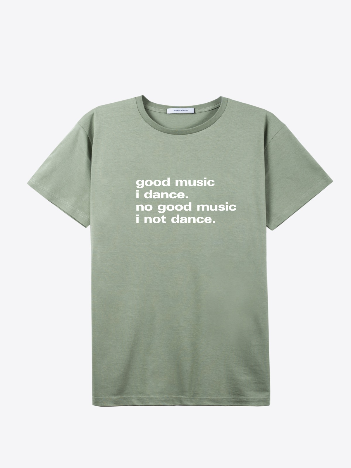 airbag craftworks good music i dance | sage green