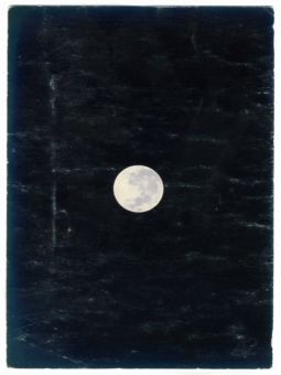 """A2 poster """"moon"""""""